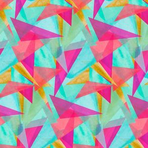 Cinta Watercolor Kaleidoscope