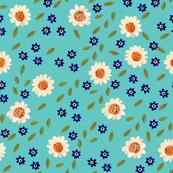 Blossom, aqua