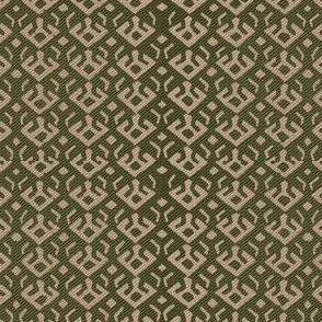 Freebird, green, dark beige