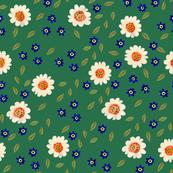 Blossom, dark green