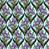 Rrframed_iris_purple_lt_aqua_d_black_leaves_shop_thumb
