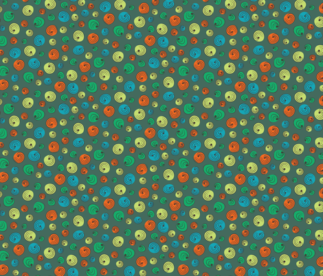 Bounce Front Sault Multi fabric by crimsonpear on Spoonflower - custom fabric