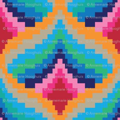 Retro pixel design
