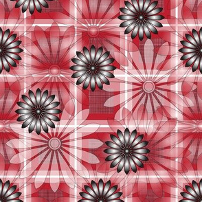 LG_Maroon_Flower_Plaid_Linen