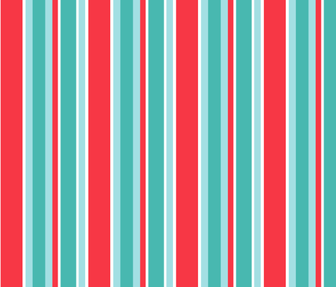 ruby rd striped turquoise coral