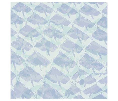 NZ Puriri Moth  bluegreen  fabric by heritageprintzaotearoa on Spoonflower - custom fabric