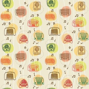 1950's radio pattern