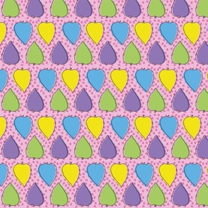 Confetti Leaves (Pink)
