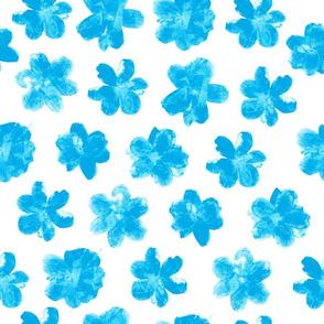 Flowering In Blue