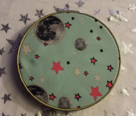 Paper Moon Collection - Mint Green Moon & Stars