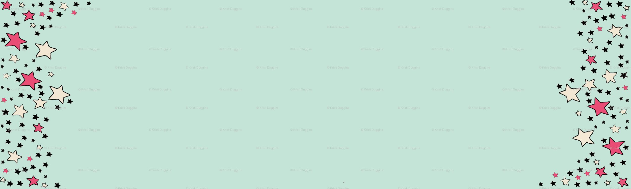 Most Inspiring Wallpaper Marble Mint Green - rrrrrrpaper_moon_border_green_colorful_stars_highres  Image_248540.png