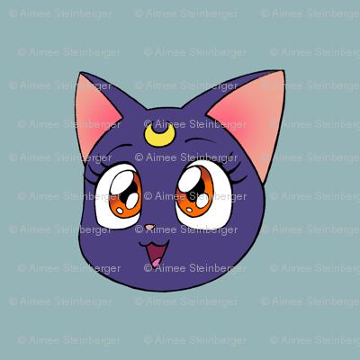 Luna blue small