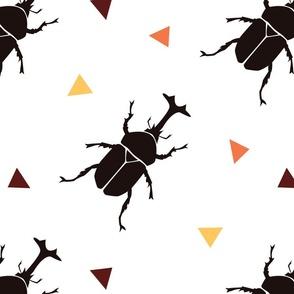 many many beetles