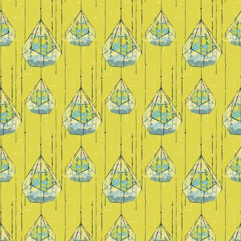 Terrariums fabric by jenflorentine on Spoonflower - custom fabric