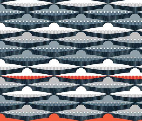 Space Race fabric by spellstone on Spoonflower - custom fabric