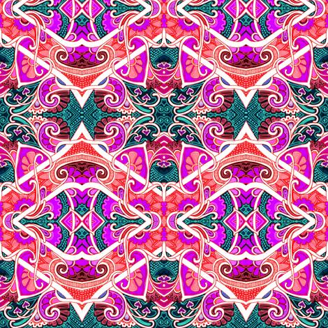 Screaming Heart Twist fabric by edsel2084 on Spoonflower - custom fabric