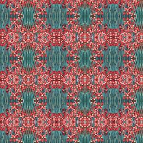 30_Norfolk_Botanic_Gardens_poster_edges_salmon___Turq2_150dpi