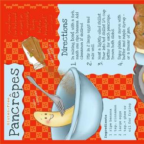 Tea Towel :: Pancêpe Recipe