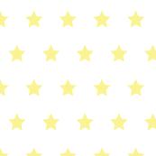 Stars yellow on white