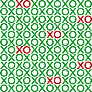 XOXO : green + red : big