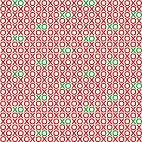 XOXO : red + green : small
