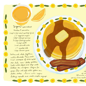 vegan_pancakes_and_fakin_bacon_tea_towel_placemat