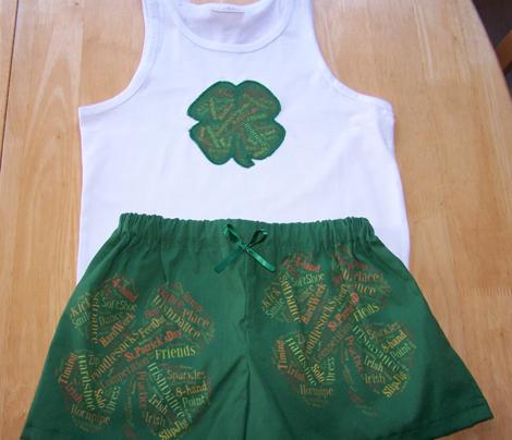 Irish Dance Clovers 7inch
