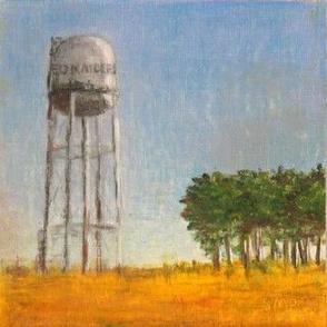 Water Tower - Original