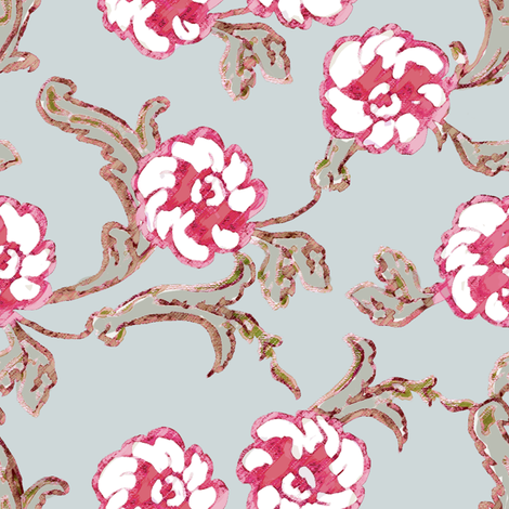 Printemps fabric by kristopherk on Spoonflower - custom fabric
