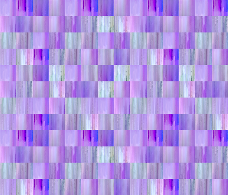 Purple and Blue Tiles Blur fabric by koalalady on Spoonflower - custom fabric