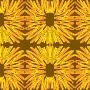 Flower Brown Orange