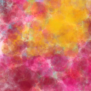 pink and gold cloud