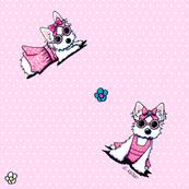 Miss Olivia On Pink