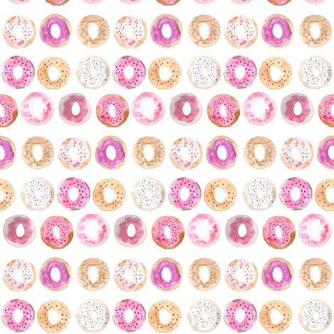 donuts mini fabric by erinanne on Spoonflower - custom fabric