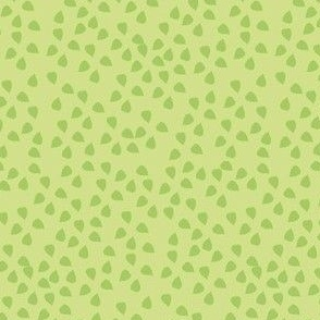 Confetti Leaves Lining (Green)