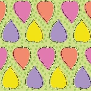Confetti Leaves (Green)