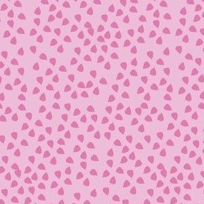Confetti Leaves Lining (Pink)