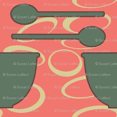 retro_kitchen-dish_and_spoon_green
