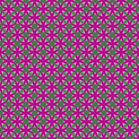 26apr14#2  v2    -fuchsia on fern fabric by fireflower on Spoonflower - custom fabric