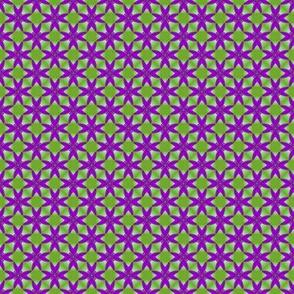 26apr14#2  v2    -purple on spring green