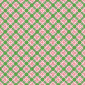 26apr14#2  v2   -shell pink on spring green