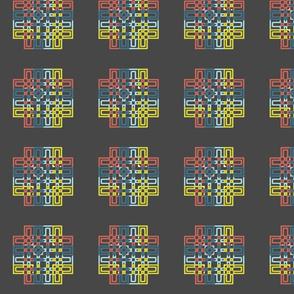 Weaving Cross Dark
