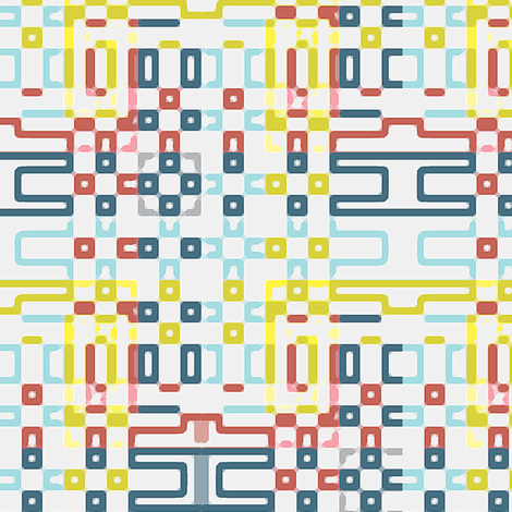Weaving Pattern fabric by jenflorentine on Spoonflower - custom fabric
