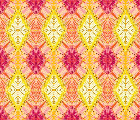 Rudo Pink fabric by emblaze on Spoonflower - custom fabric