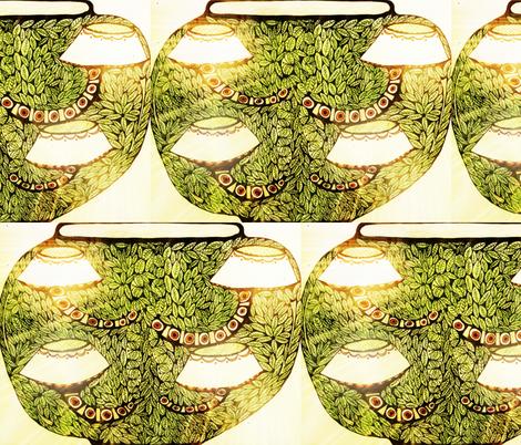 Terrarium of Light fabric by ccogburn on Spoonflower - custom fabric