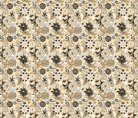 classic_floral fabric by julistyle on Spoonflower - custom fabric