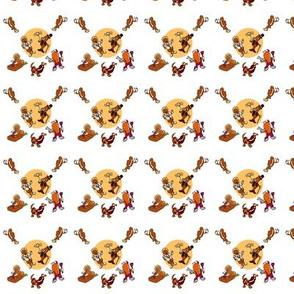 Brown bean pattern
