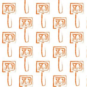 Spatula in Orange