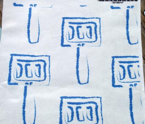 Blue Spatula Stripes
