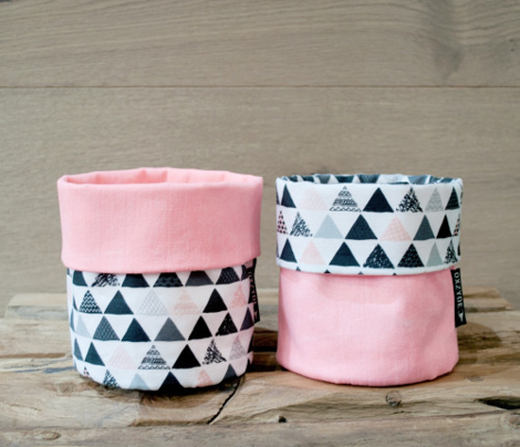 Geometric tribal aztec triangle pink modern patterns